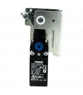 Sistema de apertura cerradura con contacto manual puerta izquierda