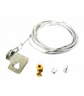 Cable apertura desde foso para cerraduras eléctrica derecha