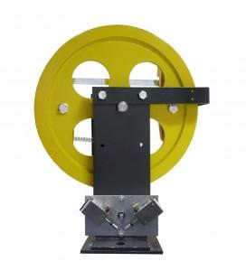 Geshwindigkeitsbegrenzer mit ferngesteuerter Rückstellung des elektrischen Kontakts 400/402