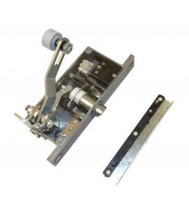 Verriegelung 103 frontbetätigt P/B ohne Hilfskontakt - Rolle 22mm