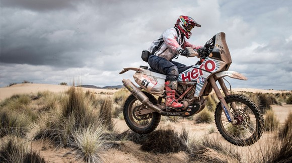 Gervall in der Dakar 2018