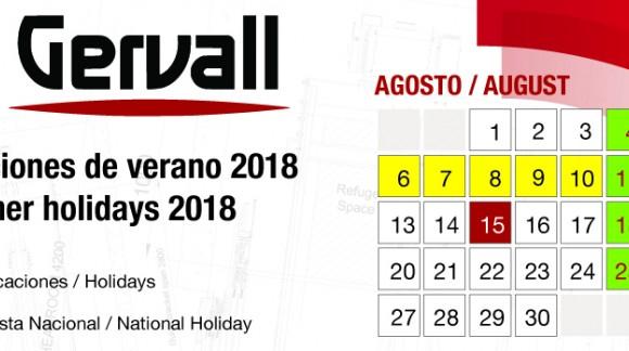 2018 Sommerurlaub